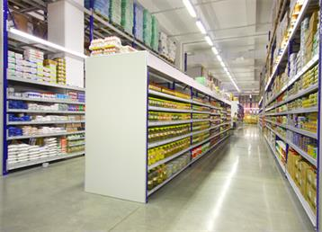 Gross Market Shelving System